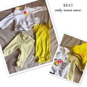 Dresses - Lot of 2 Newborn Outfits (6pieces)